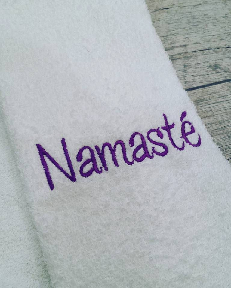 The Personalised Baby towels with your custom text below the main logo.  This is great Gift Towels towel made from soft Cotton Terry comes with  embroidery ...