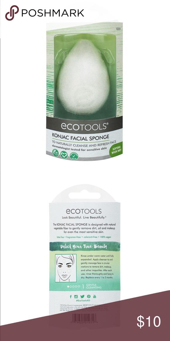 EcoTools Konjac Facial Sponge NWT Facial sponges