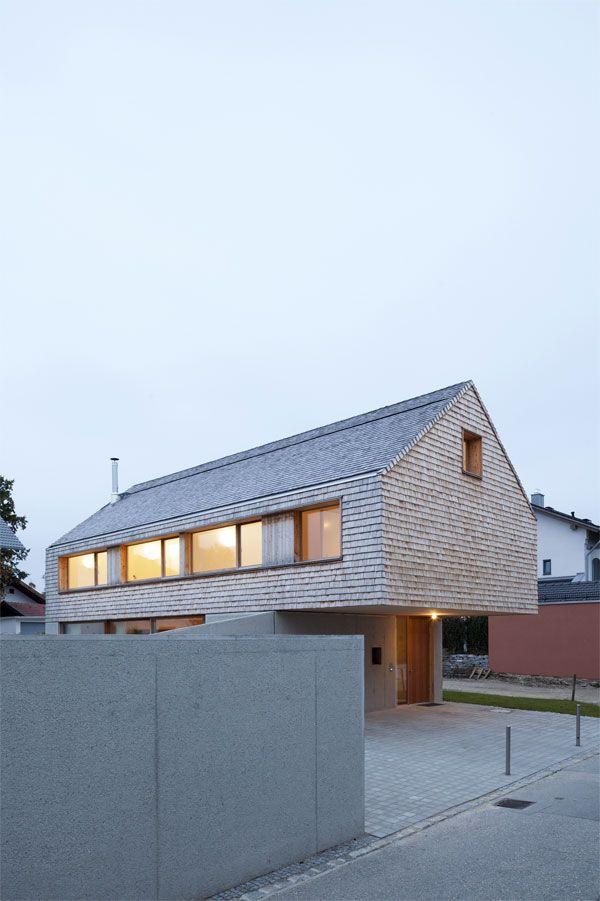 Einfamilienhaus in ebersberg bathke geisel architekten for Architektur einfamilienhaus satteldach