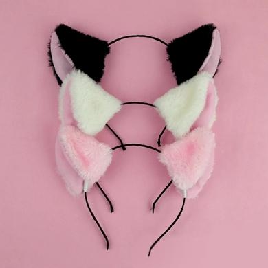 Korean Simple Plush Kitty Ears Cat Headband Cute Headbands Cat Ears Headband