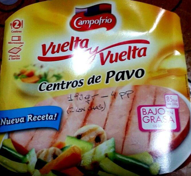 CAMPOFRIO. VUELTA Y VUELTA CENTROS DE PAVO. 190 gr..... 4 pp