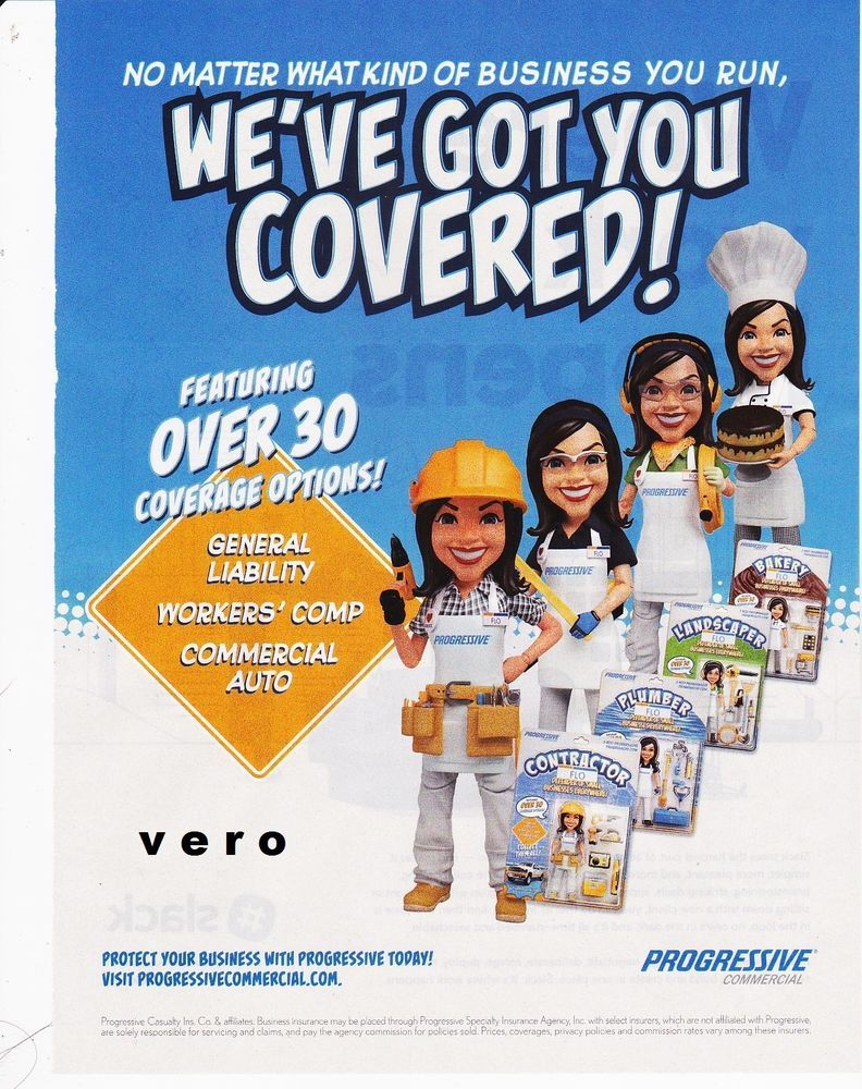 Flo Stephanie Courtney Progressive Insurance Ad Page Pic