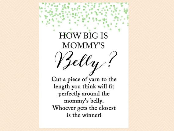 How Big Is Mommy S Belly Guess The Size Of Mom S Belly How Big