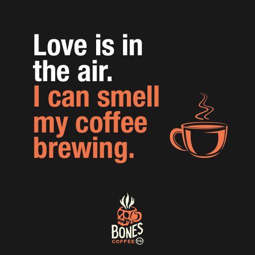 Love is in the air. #coffee #chocolateraspberry bonescoffee.com