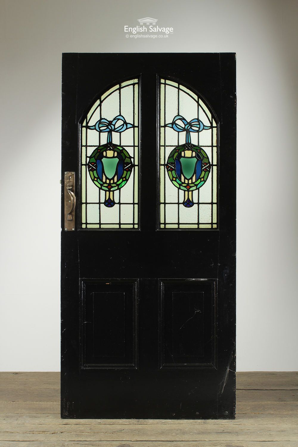 English Salvage (formerly Leominster Reclamation) are the premier architectural salvage and Reclamation Yard in the UK. Providing everything from reclaimed ... & Reclaimed Wide Stained Glass Panel Door | Reclaimed Doors ...