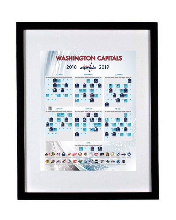 Washington Capitals 2018-2019 Season Schedule a1de554c2e6