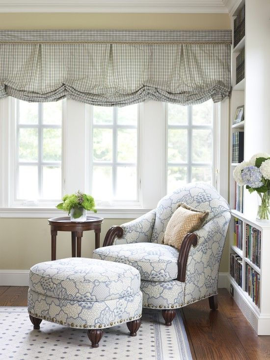 Chair With Small Table For Reading Upstairs Reading Nook Home