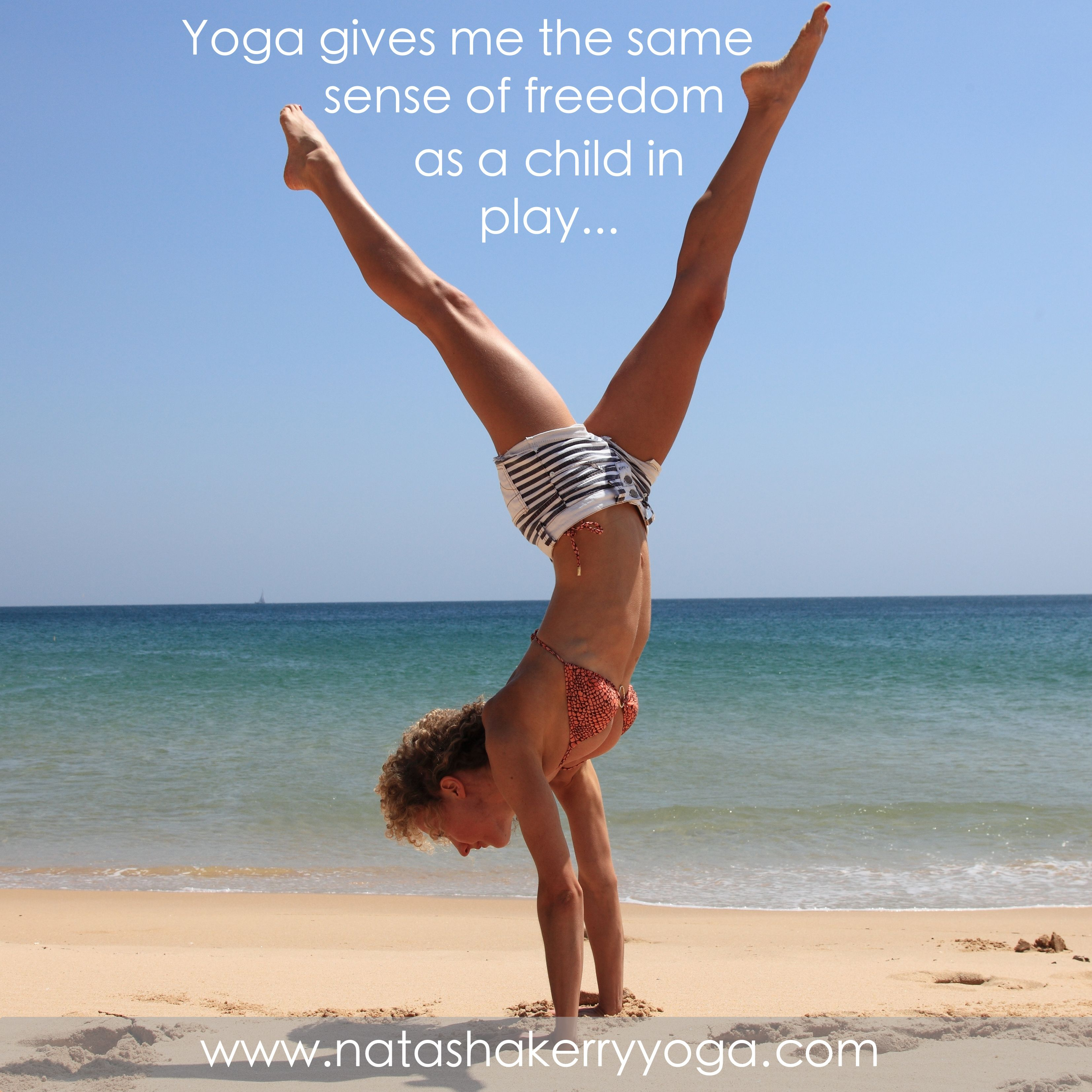 Inspiration Yoga Meme Beach Handstand With Images Yoga