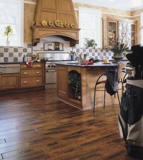 Types Kitchen Flooring   Hardwood Flooring In Kitchen Wood Floor In Kitchen  Type And Model As