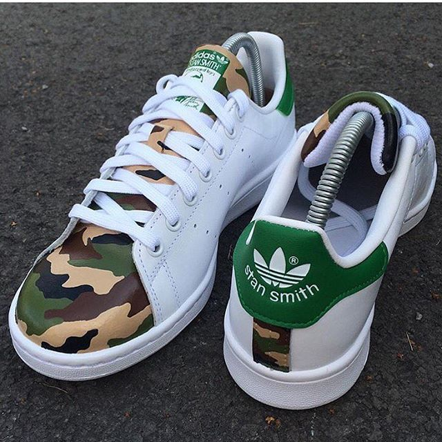 Camp Stan Smith Customs | Shoes | Adidas shoes, Shoes