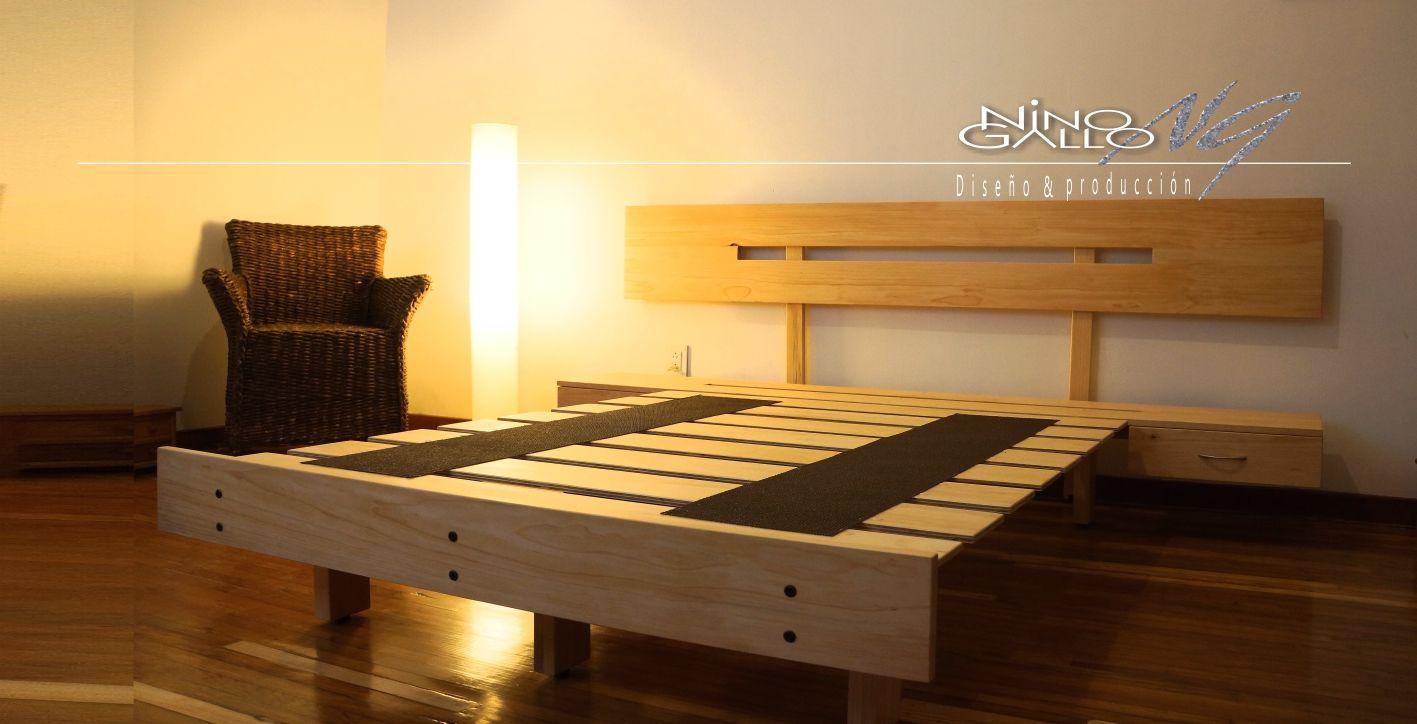 Camas Nino Gallo, bases para cama, bases de madera, bases para ...