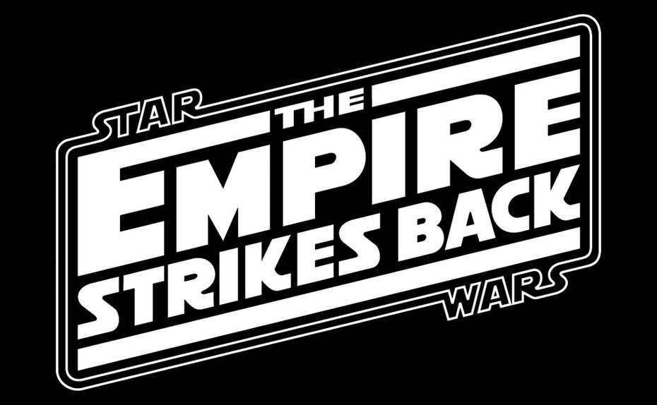 Star Wars Logos Over The Years Star Wars Logo Star Wars Font Star Wars