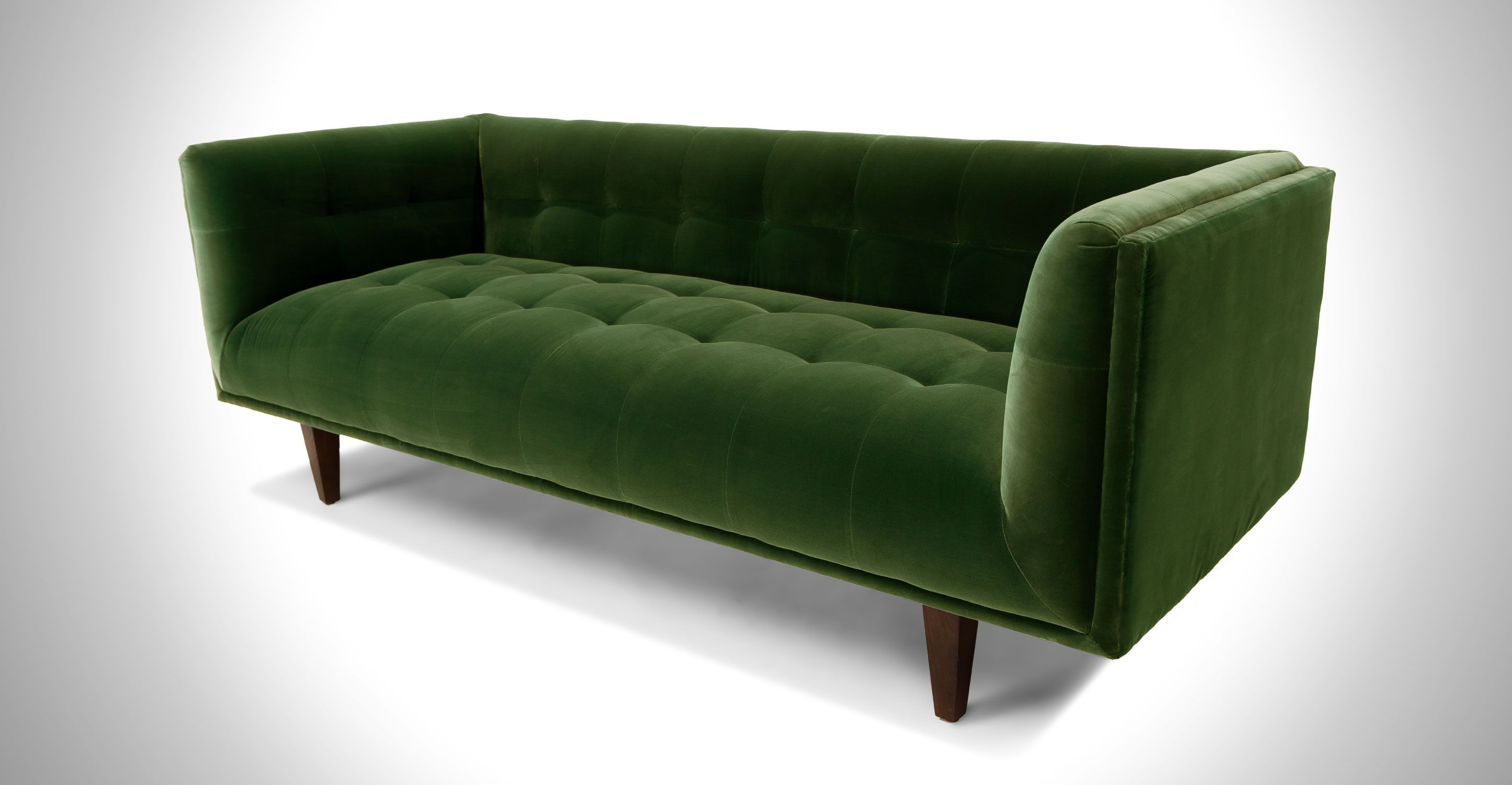 Green Velvet Sofa With Steel Legs | Article Mirage Contemporary Furniture |  Scandinavian Furniture, Sofa Sofa And Mid Century