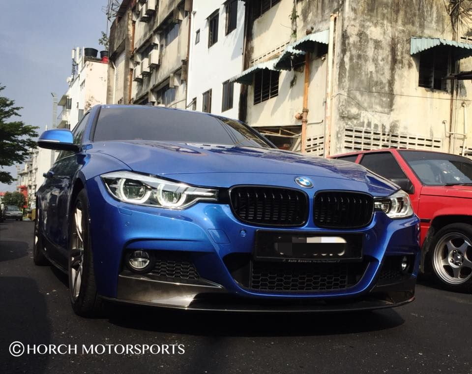 02028966cd1 Blue BMW F30 3 Series with M Performance Aerodynamic Body kit Horch  Motorsports 017-340 5316