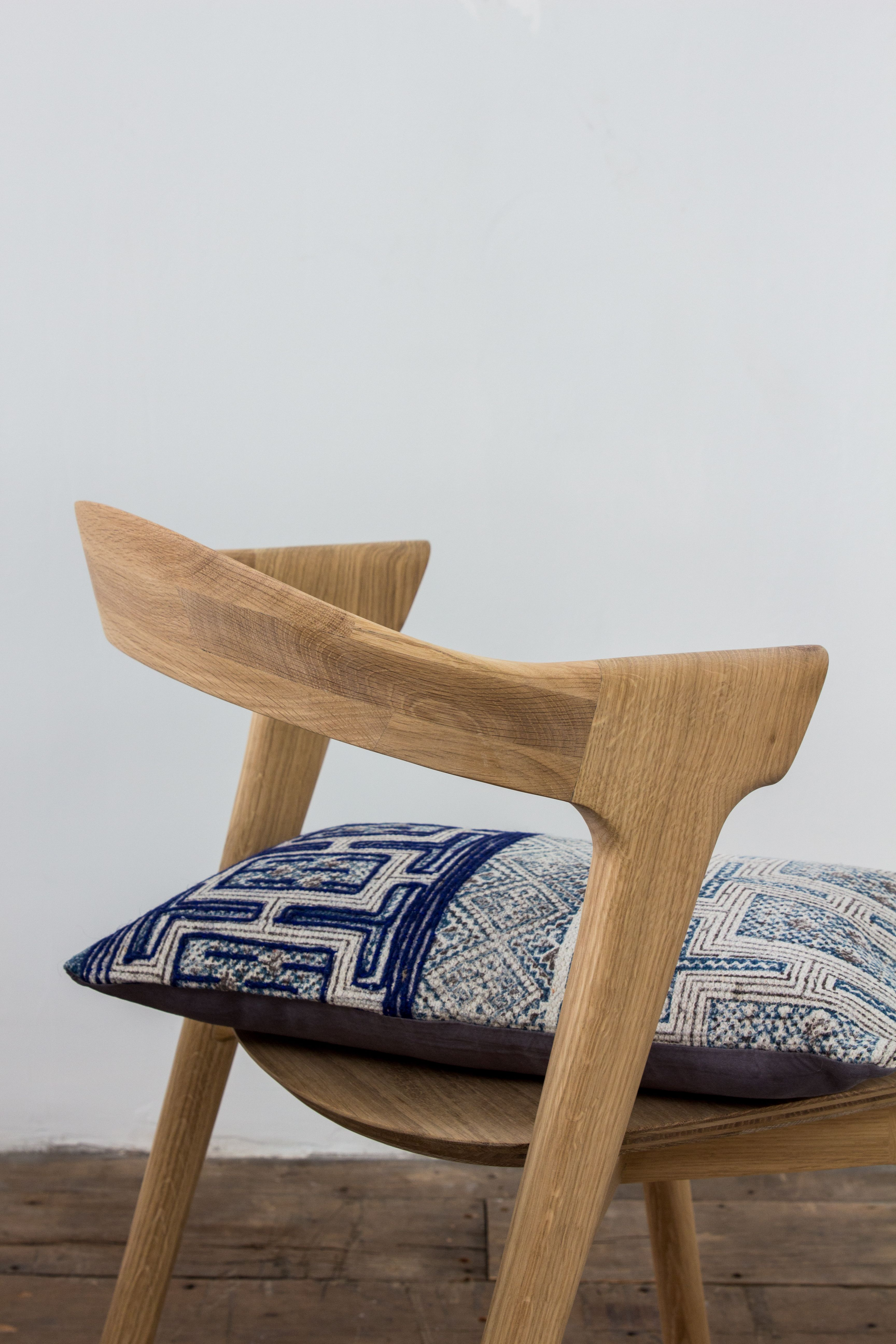 Ethnicraft Casale chair oak Van Binnen
