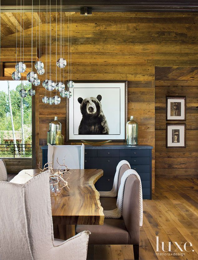 House Blend Snowmass Home Brings Edge To The Mountains Via Luxe