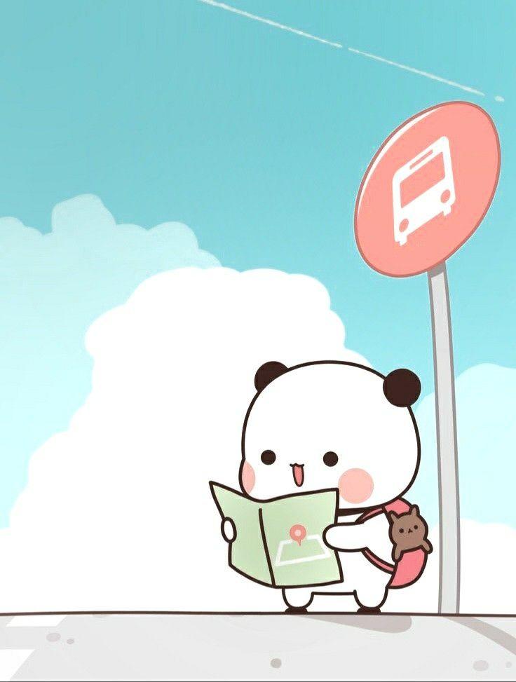 Pin Oleh Pao Palomino Di Kawa Panda Ilustrasi Karakter Kartun Animasi