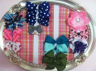 Store your hair bows! :) perfect for little girl rooms!