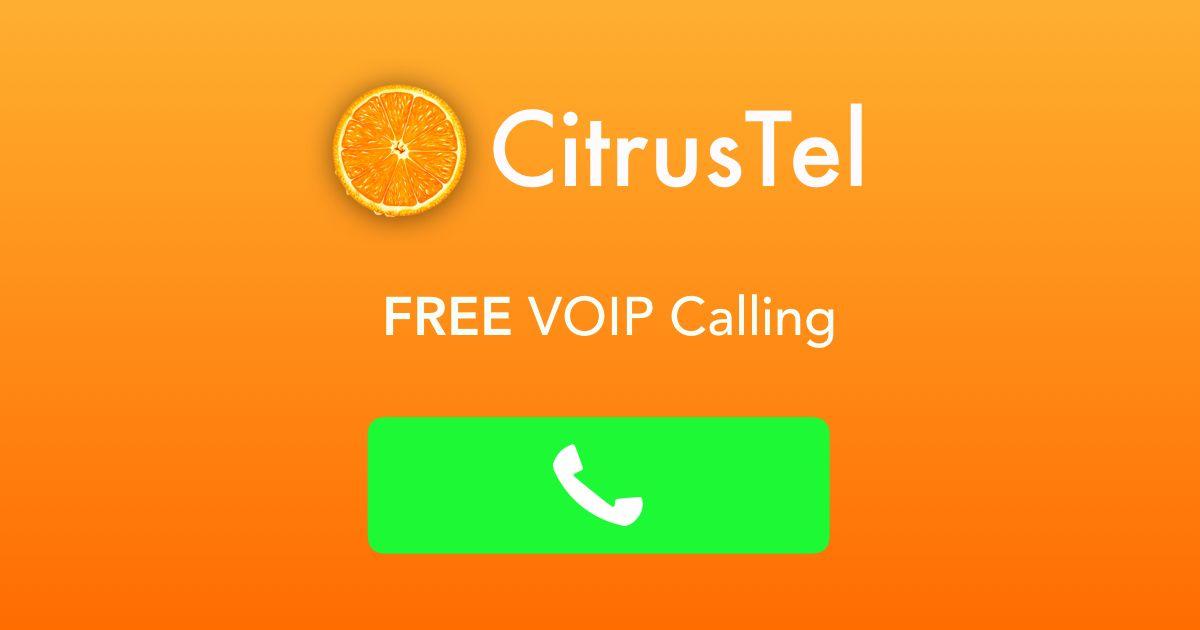 Make free phone calls using CitrusTel  Call mobile or landline phone