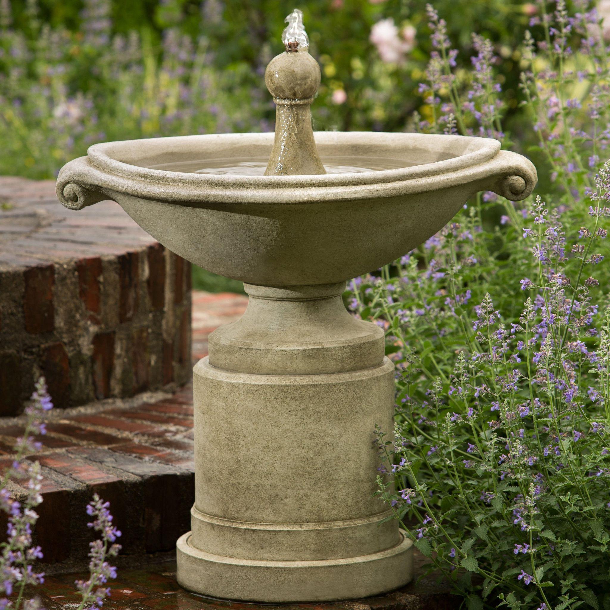 Borghese Garden Water Fountain | Pinterest | Outdoor fountains ...