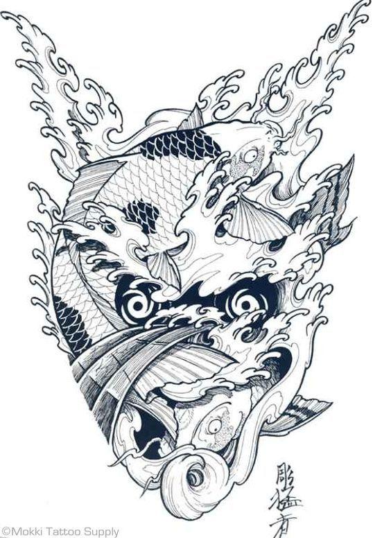 tatuaggi giapponesi disegno - Cerca con Google: