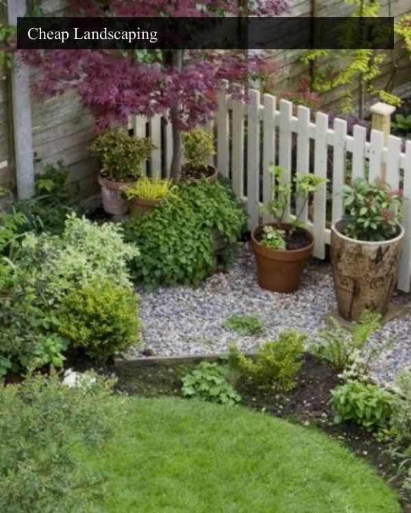 14 Small Yard Landscaping Ideas To Impress: Top 14 Outdoor Affordable Landscaping Hints