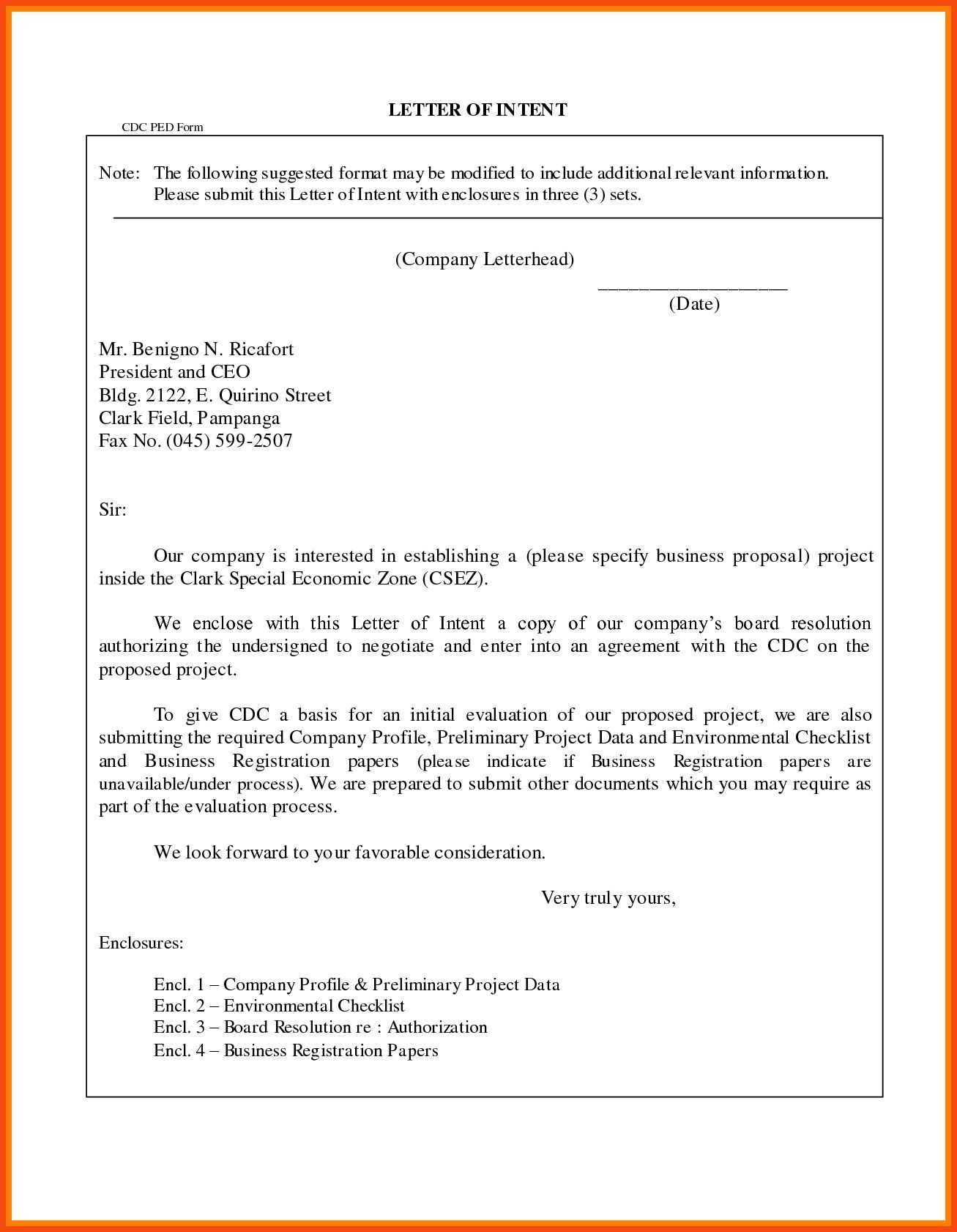 You Can See This New Format For Business Letter With Enclosure And
