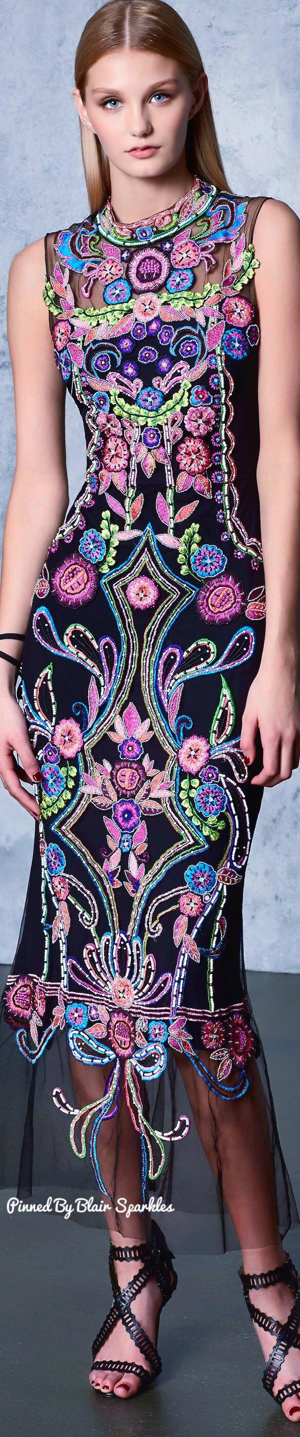 Marchesa Notte Resort 2018 | Fashion = Love | Pinterest | Vestiditos ...