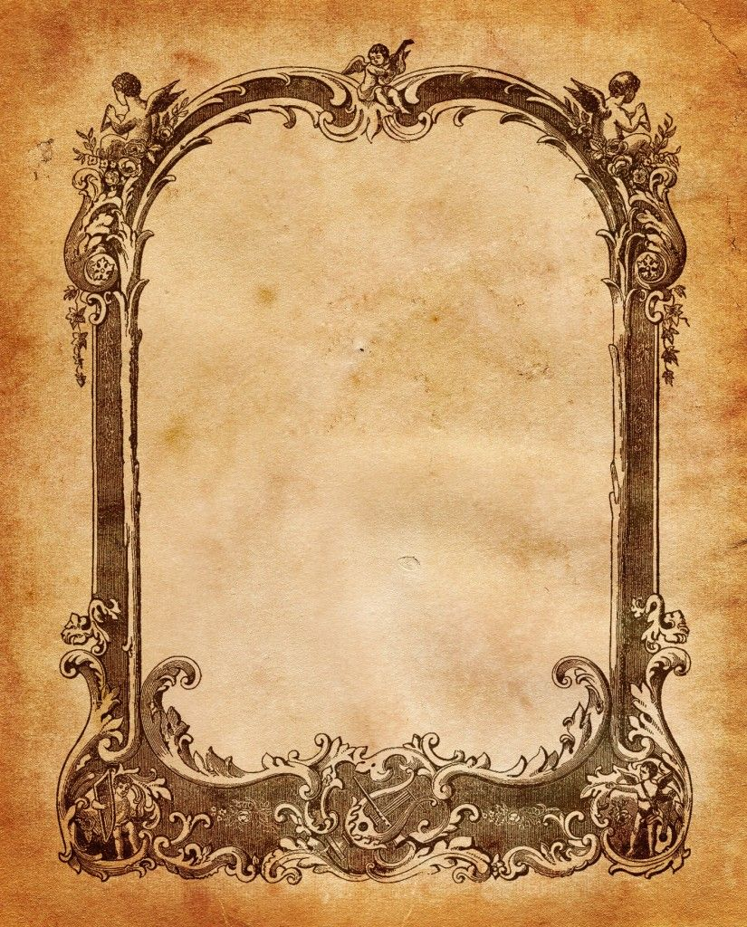 Vintage Sheet Music Frame ~ B/W version also. | Backgrounds and ...