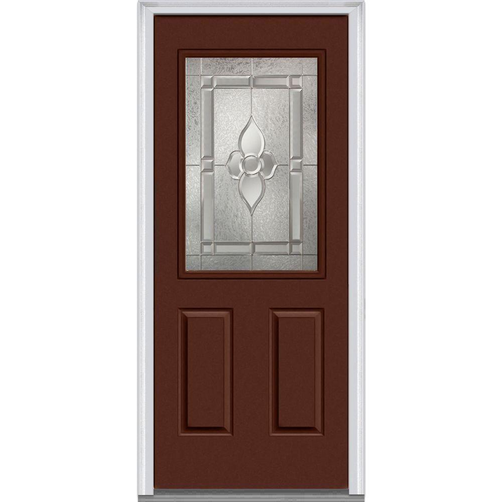 Mmi Door 32 In X 80 In Master Nouveau Right Hand 12 Lite