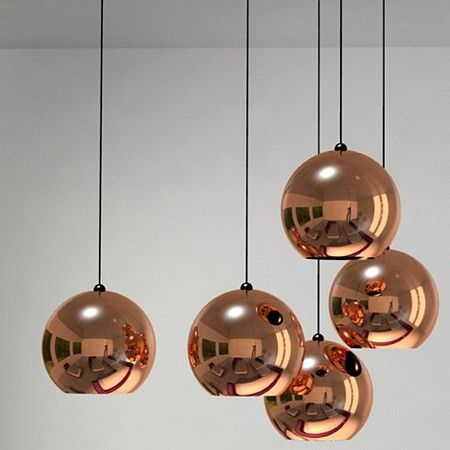 Bien connu Suspension boules Copper shade | Plafonnier, Luminaires et  IF29