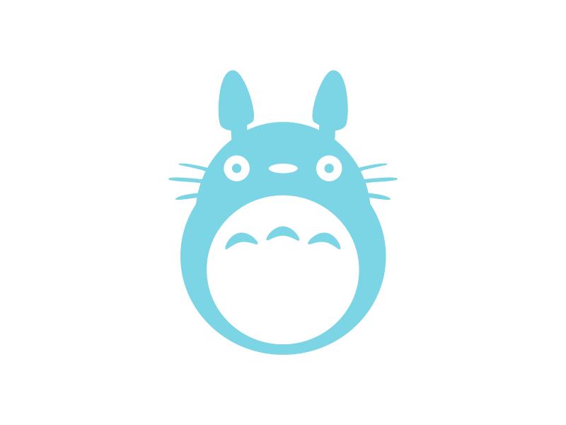 Totoro Icon Totoro Japanese Icon Art Logo