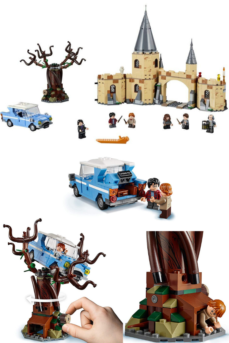 Lego Harry Potter Hogwarts Whomping Willow Toy Build Hogwarts