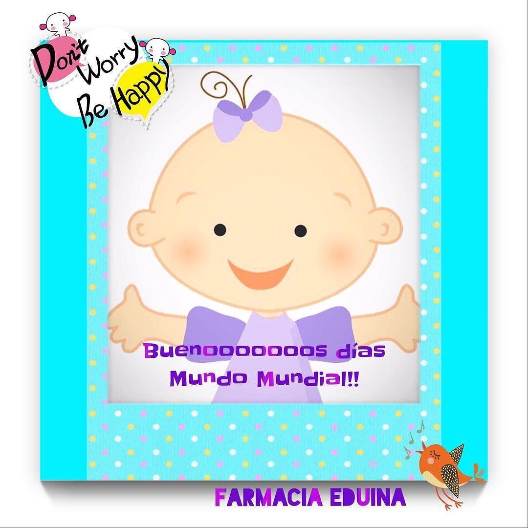 Buenoooos días!!!!! #Mundo #Mundial #guardia terminada y ya otra vez en marchay con la carita siempre llena de risasdon'tworrybehappy #farmaciaeduina la #felicidad es #Salud #mafalda #quino #comic #humor #alegria #sonrisas #risas #carcajadas by farmaciaeduina