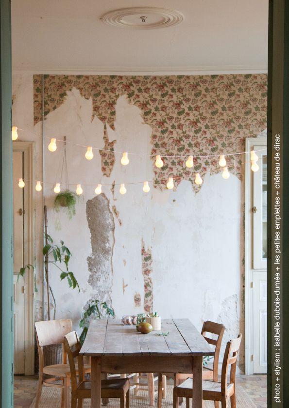 happy green d coration at ch teau de dirac by isabelle dubois dum e stylism photo. Black Bedroom Furniture Sets. Home Design Ideas