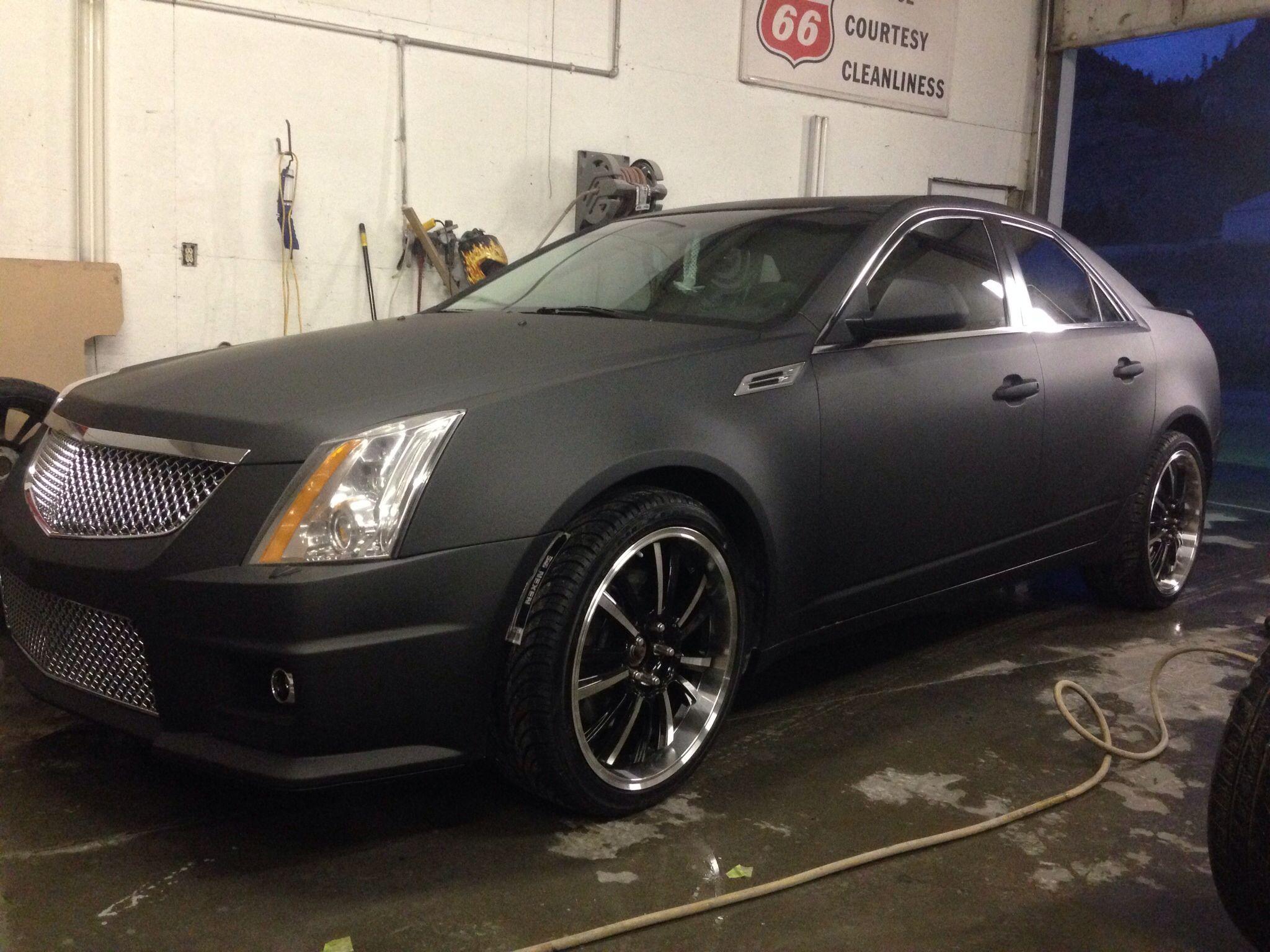 Cadillac cts matte black