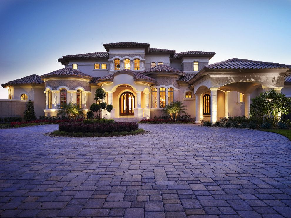 25 stunning mediterranean exterior design exterior for Luxury mediterranean home plans
