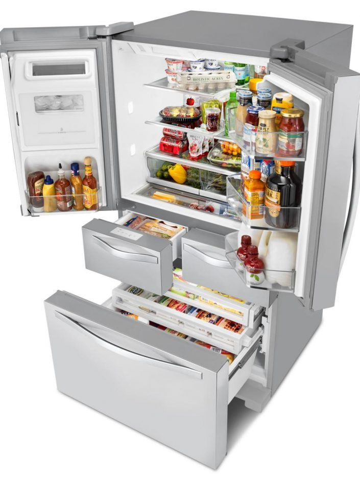 Appliances: Specialized Fridge Storage Areas. electrical appliances ...