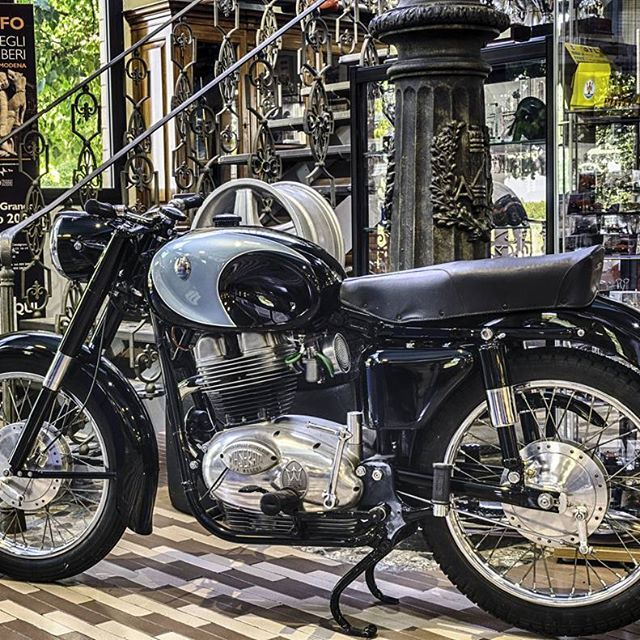 Old Maserati  #maserati #Modena #vintage #hdr #moto #motocicletta