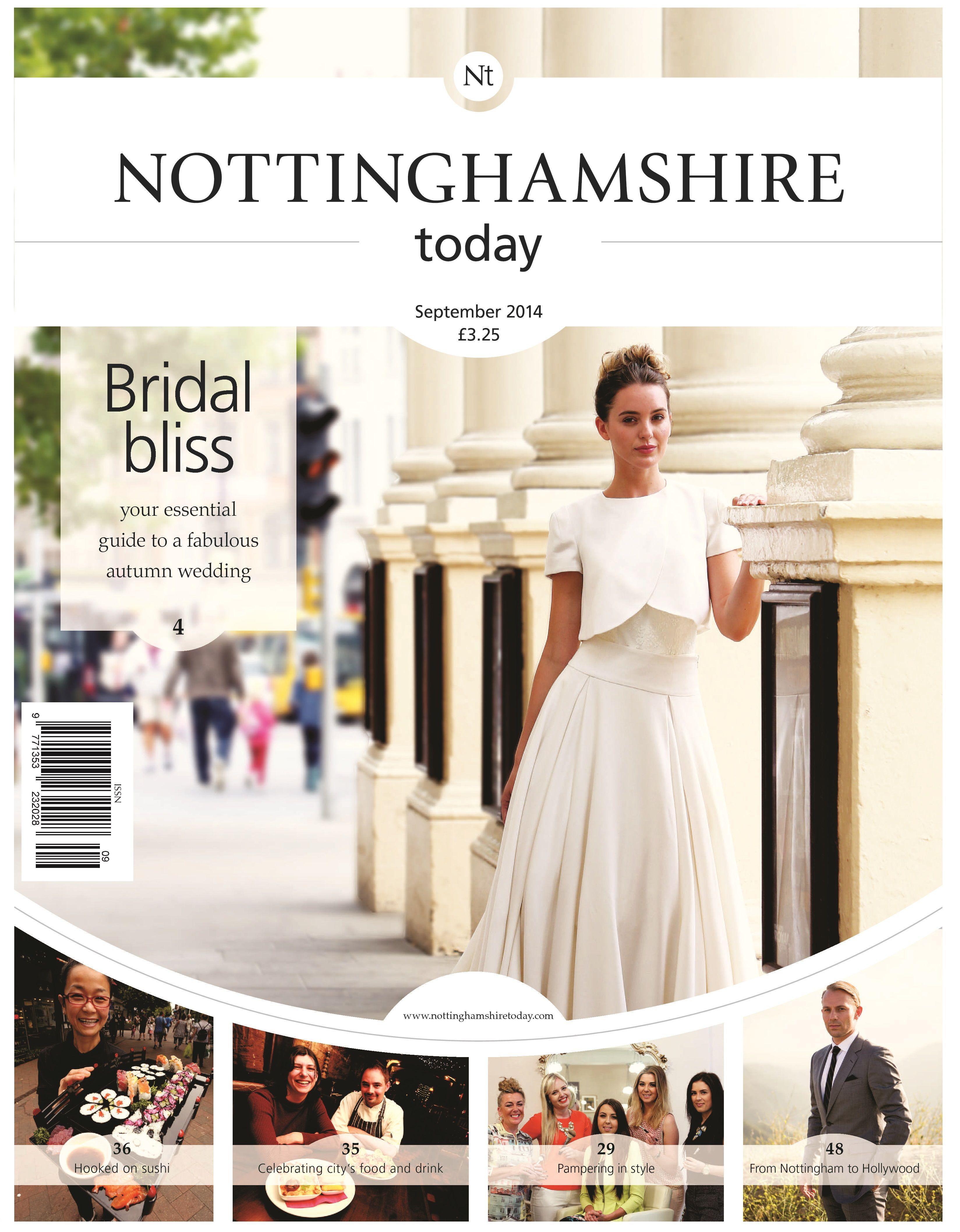 Elizabeth Stuart Moonflower Gown Nottinghamshire Today