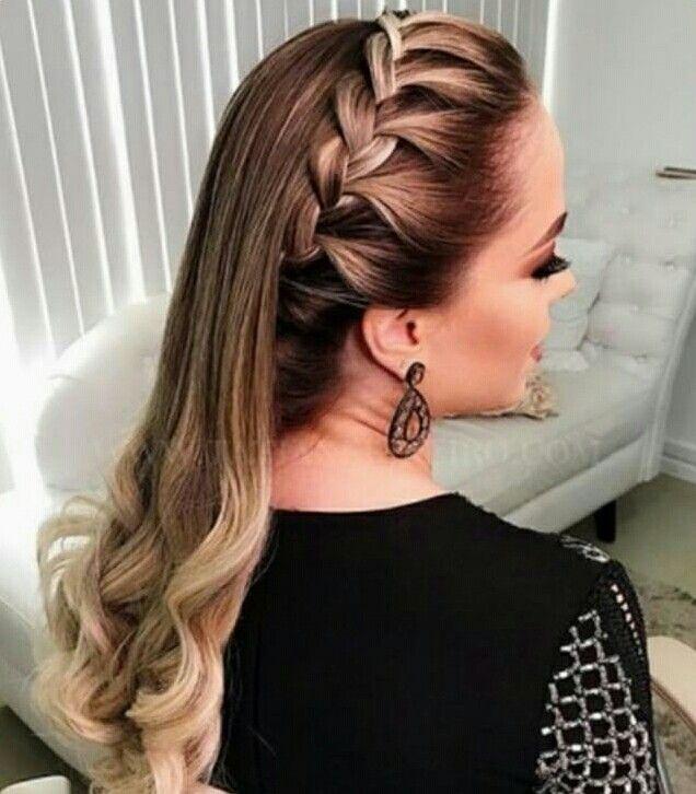 Pin De Juanita En Peinados Sencillos Peinados Peinado Cabello Largo Cabello Y Belleza