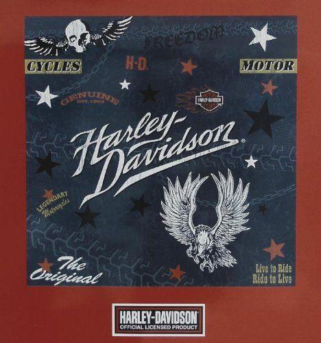 Amazon Com Harley Davidson Woven Shower Curtain 72 X 72 Home
