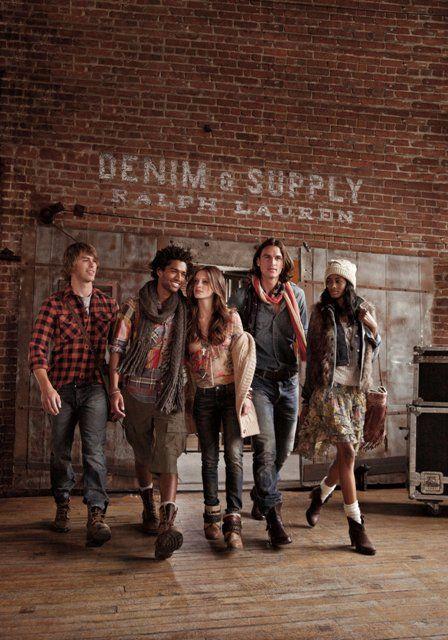 Denim fall 2012 ad campaign