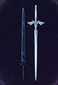 Sword Of The Night Sky X Blue Rose Sword Sao Ars Db Sword Art Online Cielo Nocturno Enemigos