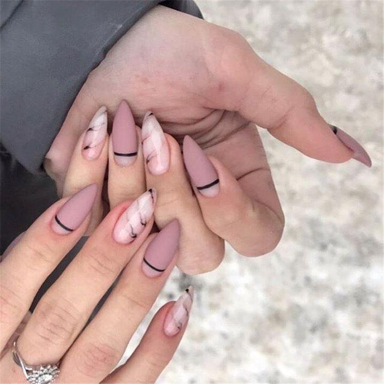Beautiful Nail Art Design Ideas Trends 2020 Zakruglennye Nogti