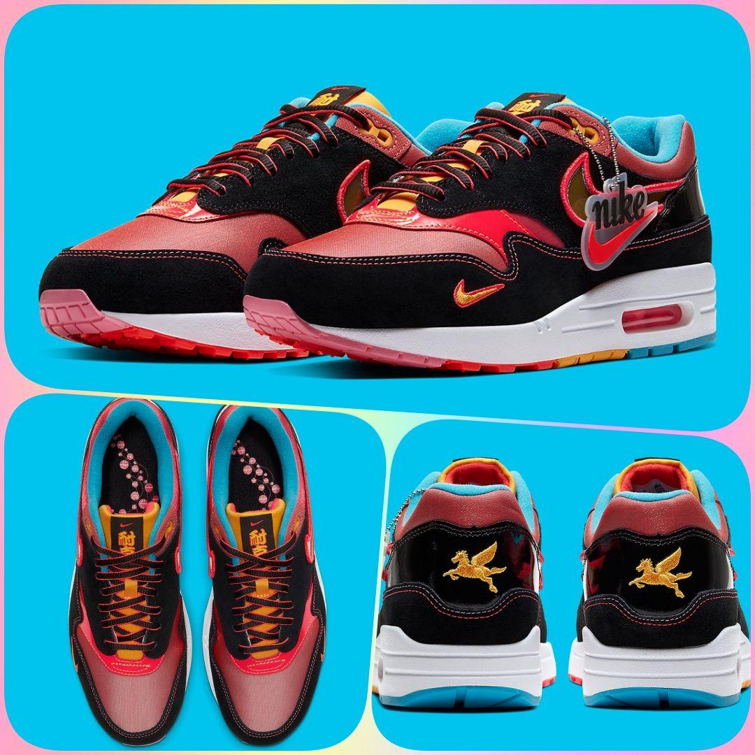 Nike Air Max 1 NYC Chinatown Nike air max, Nike, Retro shoes