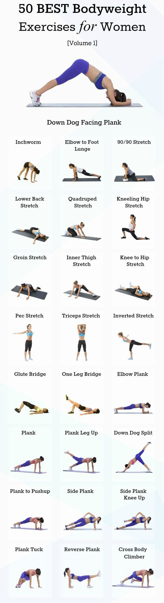 Try a full body workout that combines upper body exercises, lower body exercises, and core exercises into one workout routine for woman! #workoutforwoman #totalbodyworkout #weightlossworkout
