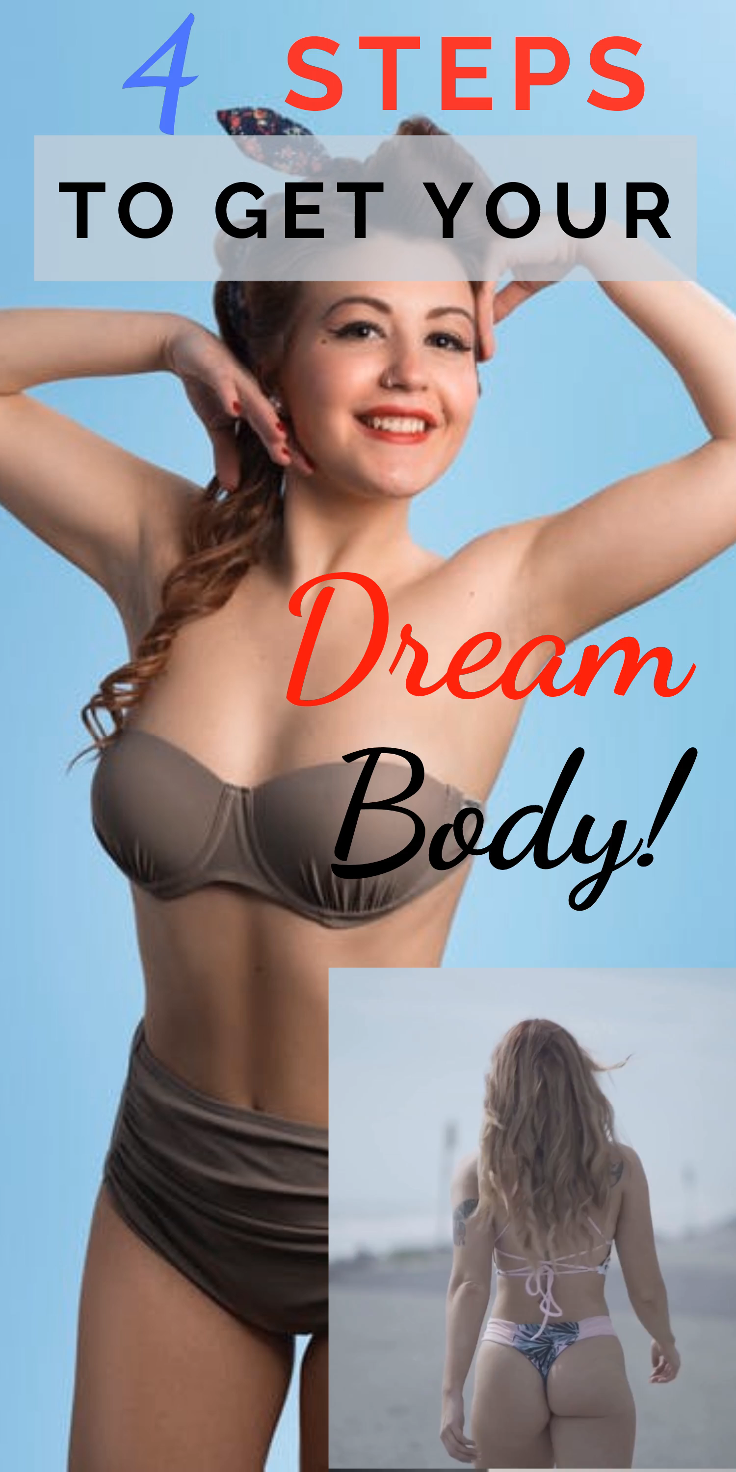 Photo of Get Motivated to Lose 4 Dress Sizes in One Month: 4 Steps to Get your Dream Body