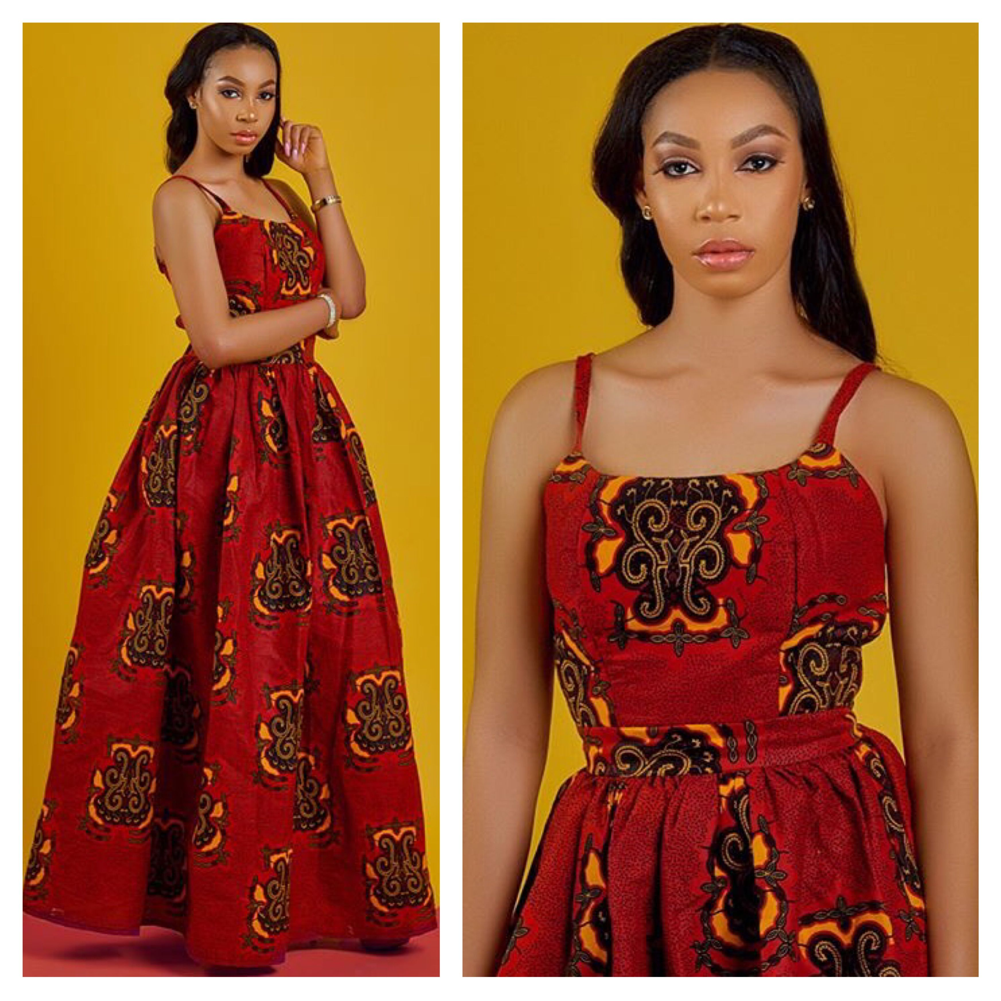 08f94e51e26 Birthday Outfit  Checkout Omoye Lovely Ankara Maxi Dress - Ankara  collections brings the latest high street fashion online