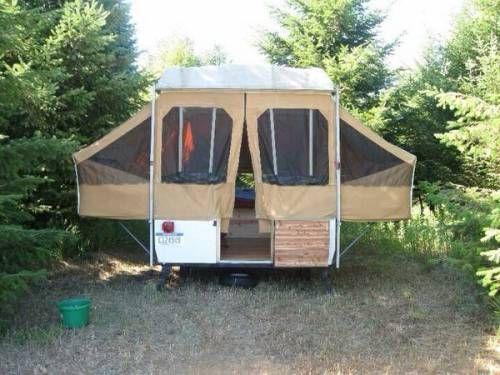 973 Montgomery Ward Western Field Edition Pop Up Camper 1850
